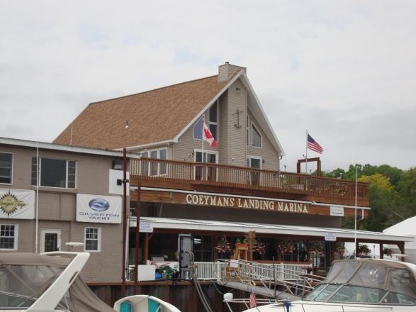 Coeymans Landing Marina south of Albany, NY