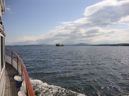 Lake Champlain has some pretty  big water!