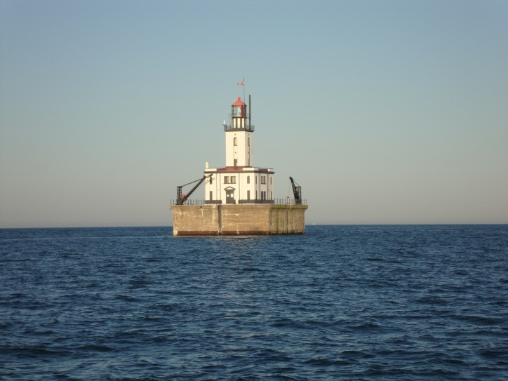 De Tour Reef Light in Lake Huron