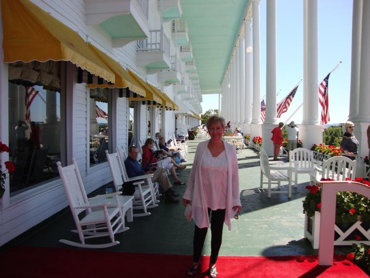 Grand Hotel Veranda and the First Mate/Admiral