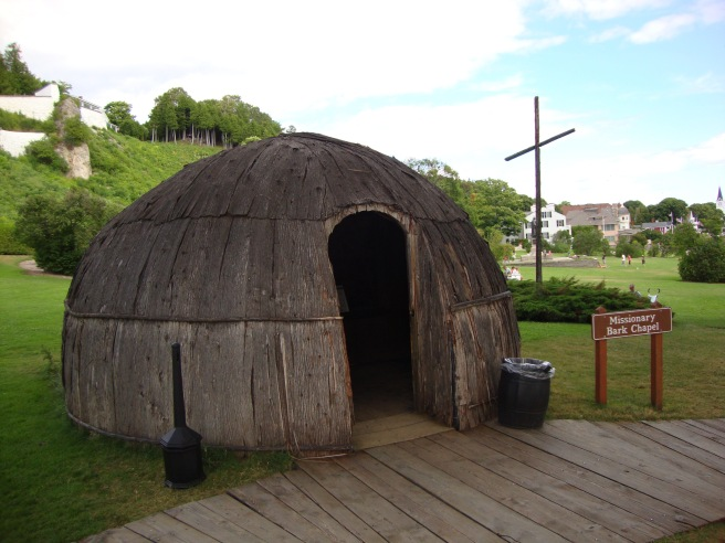Early Missionary Facility on Mackinac Island
