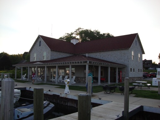 Leland Municipal Marina Facilities building