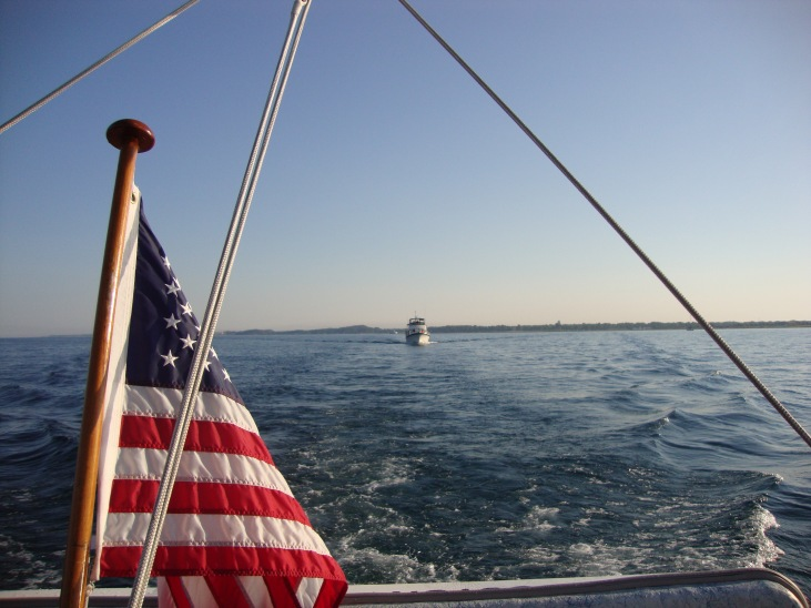 Synchronicity buddy boating from Ludington to Muskegon