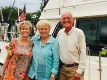 Vicki, Marilyn and Ron - Good friends from Pentwater, Michigan