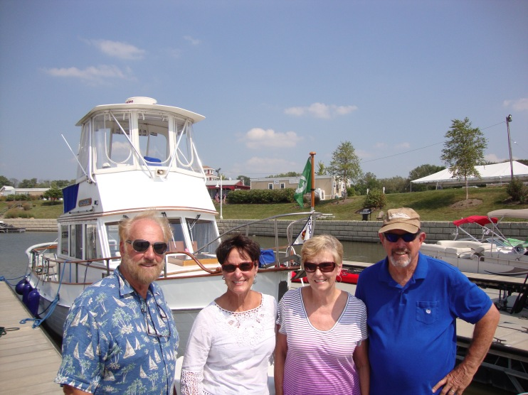 Ron, Katie, Vicki and Lew - good buddies from Orcas