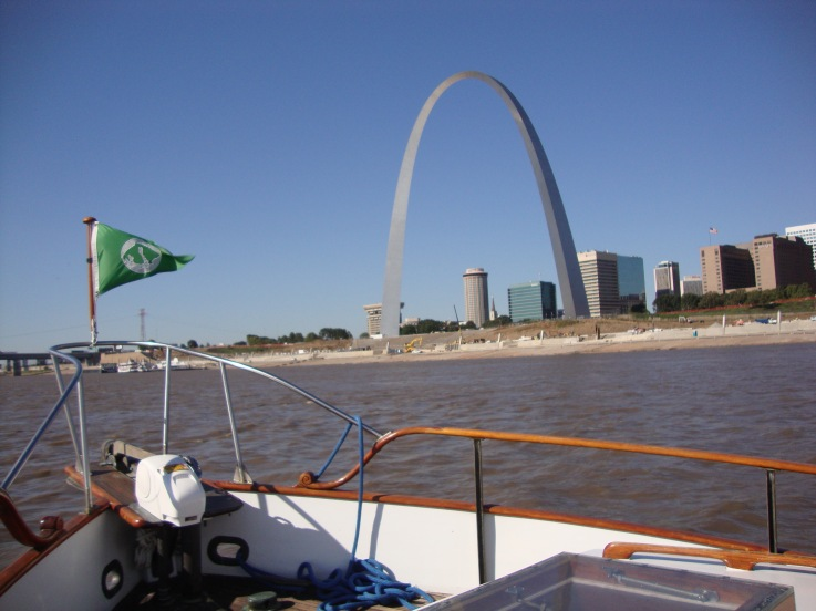 Yup - It's the St. Louis Arch