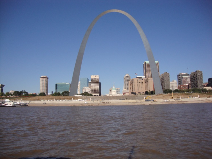 St. Louis Arch from another angle