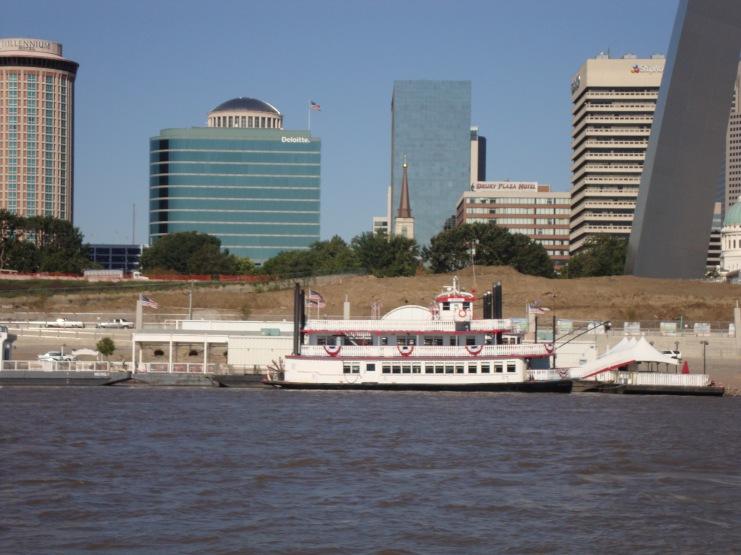 Mississippi River Stern Wheeler at St. Louis