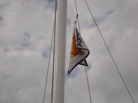 AGLCA Flag on SEA To SEE